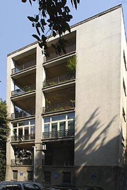 Gio Ponti a Milano - CLINICA COLUMBUS (1940-48)
