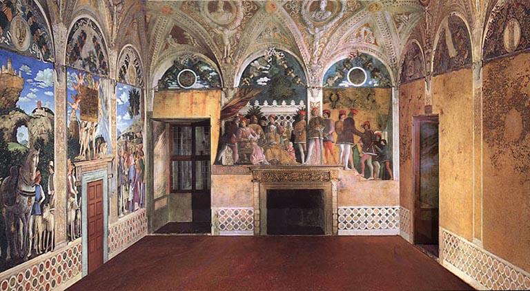 la camera degli sposi palazzo ducale di mantova